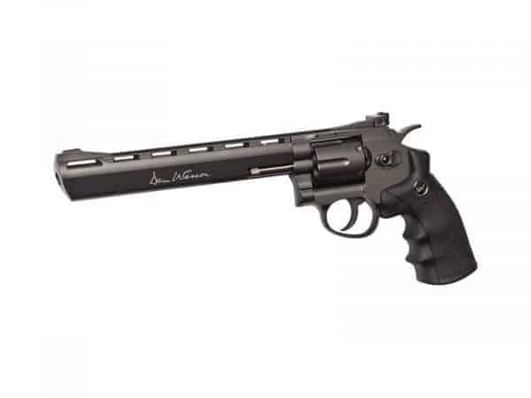 "Dan Wesson CO2 Revolver 8"" Black low power"