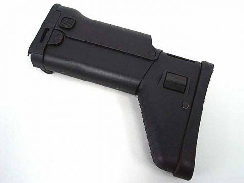 D-Boys Side Folding Retractable Stock for SCAR AEG (Black)