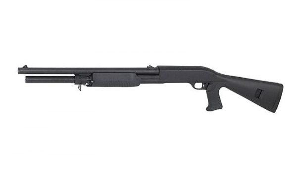 DE m56AL shotgun tri-shot 3 rounds