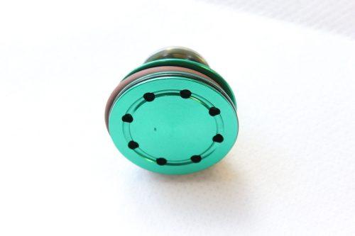 ZCI double o-ring aluminum bearing piston head