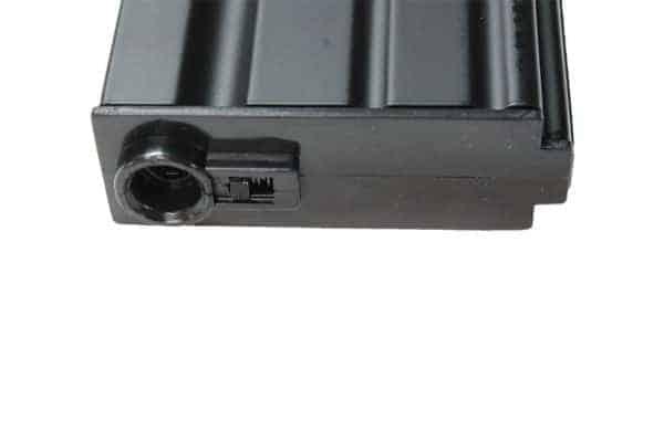 e and c mid cap magazine black4 E&C 160 round M4 / M16 metal mid cap