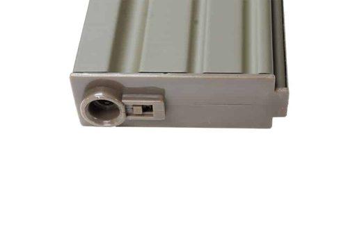 E&C 160 round M4 / M16 metal mid cap Tan