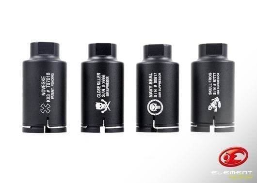 Element Close Killer Mini Sound Hog - Black (14mm CCW)