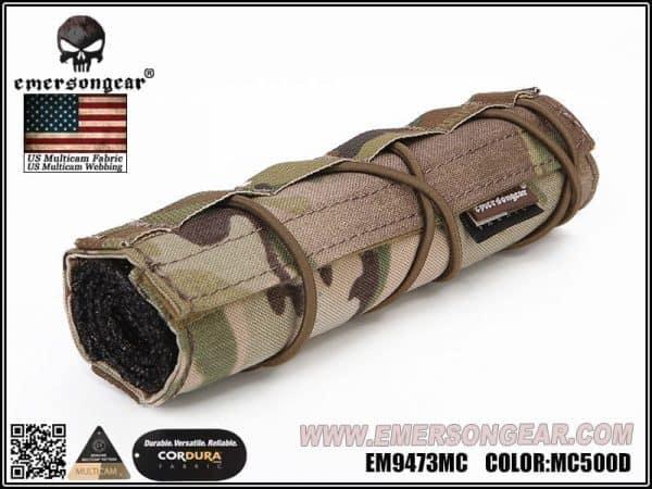 Emerson Gear Airsoft Suppressor Cover (18cm) - Multicam