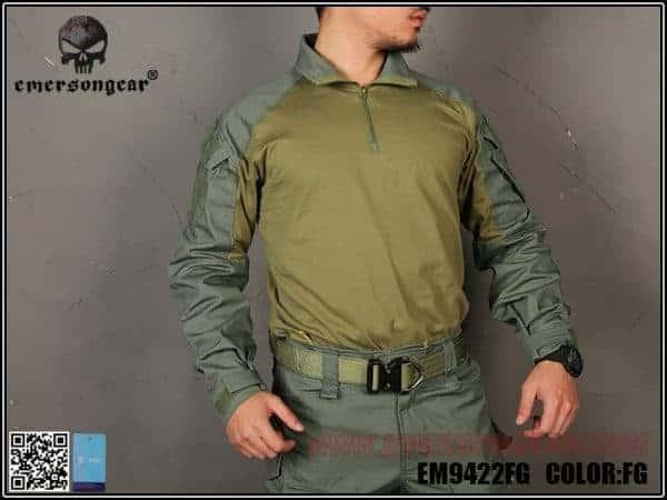 Emerson Gear G3 Combat Shirt - Foliage Green