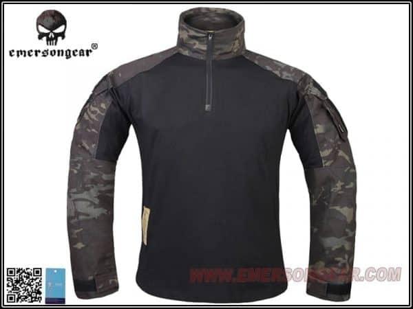 emerson combat shirt multicam black 1 Emerson Gear G3 Combat Shirt - Multicam Black