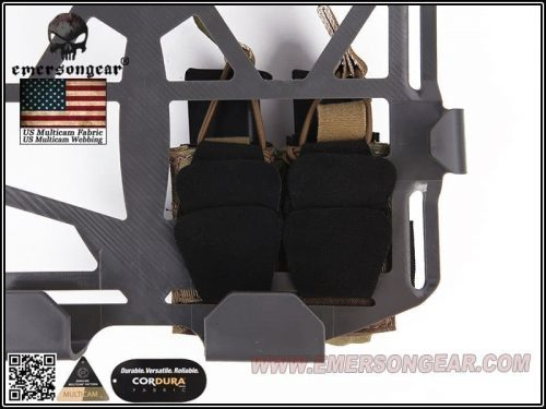 emerson frame carrier pistol pouch double cb 2 Emerson Gear Double Pistol Pouch For Frame Carrier