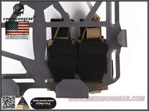 Emerson Gear Double Pistol Pouch For Frame Carrier