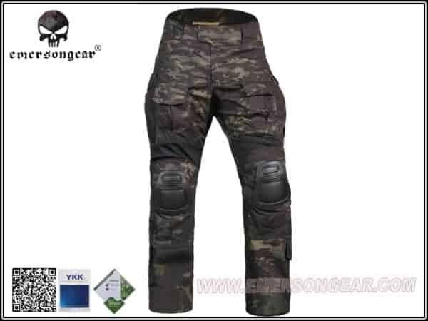 emerson g3 combat pants multicam black 2 Emerson Gear G3 Combat Pants - Multicam Black