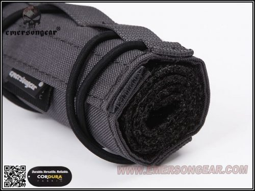 emerson gear 18cm suppressor cover black 3 Emerson Gear Airsoft Suppressor Cover (18cm) - Black