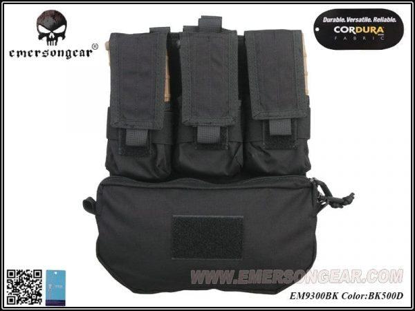 emerson gear assault panel black 1 Emerson Gear Assault Back Panel