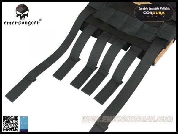 emerson gear assault panel black 6 Emerson Gear Assault Back Panel