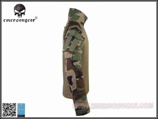 emerson gear combat shirt woodland 2 Emerson Gear G3 Combat Shirt - Woodland