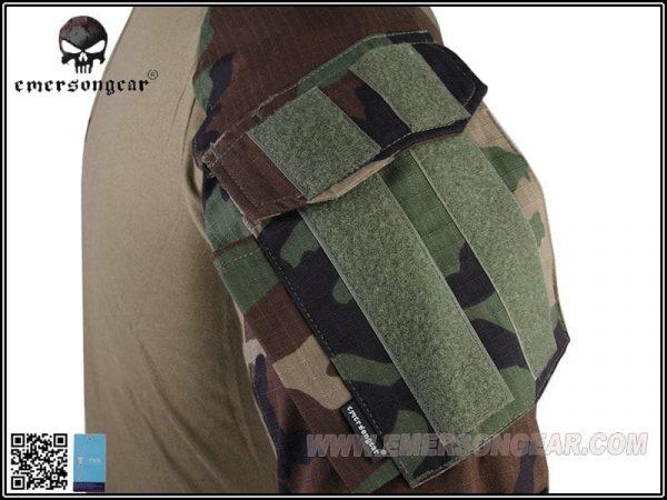emerson gear combat shirt woodland 3 Emerson Gear G3 Combat Shirt - Woodland