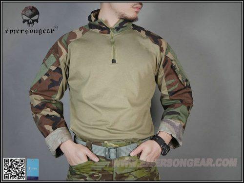 emerson gear combat shirt woodland 4 Emerson Gear G3 Combat Shirt - Woodland