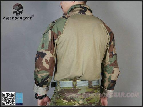 emerson gear combat shirt woodland 5 Emerson Gear G3 Combat Shirt - Woodland