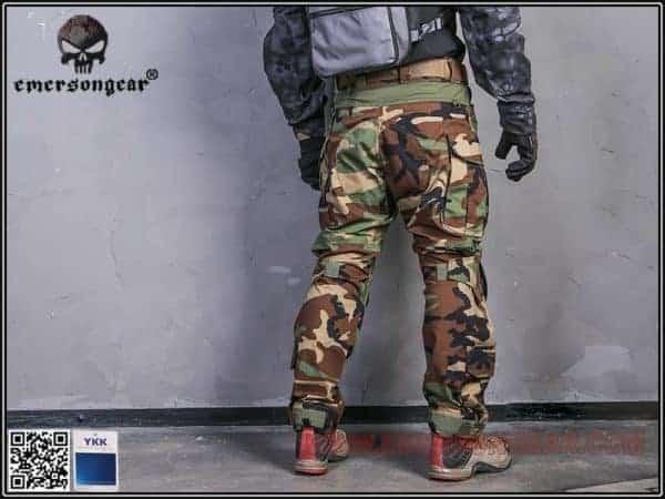Emerson Gear G3 Combat Pants - Woodland