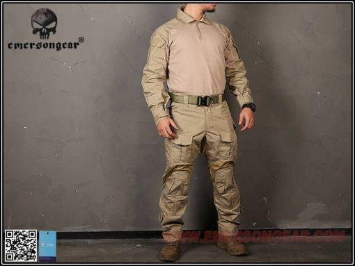 Emerson Gear G3 Combat Shirt - Khaki