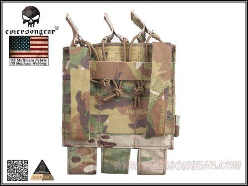 emerson gear mp7 mag pouch multicam 2 Emerson Gear Triple MP7 Magazine Pouch