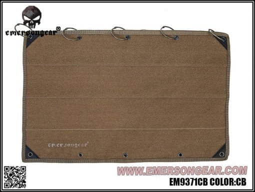 Emerson Gear Large Patch folder - Coyote Brown