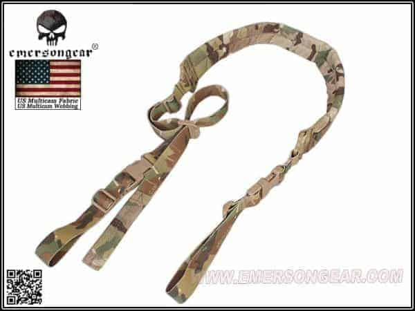 emerson gear quick adjust padded 2 point sling multicam Emerson Gear Quick Adjust  Padded 2 point sling - Multicam