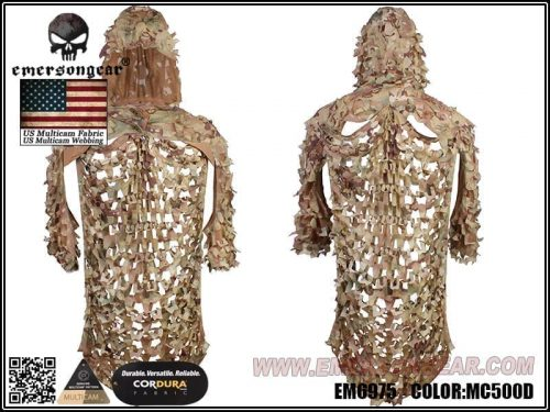 Emerson Gear Light-Weight Assault Ghillie - Multicam