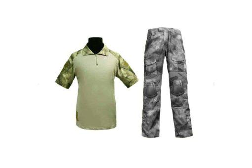 emerson gear short combat shirt atac fg