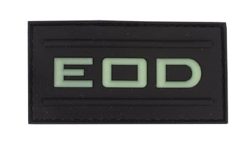 EOD glow in the dark patch