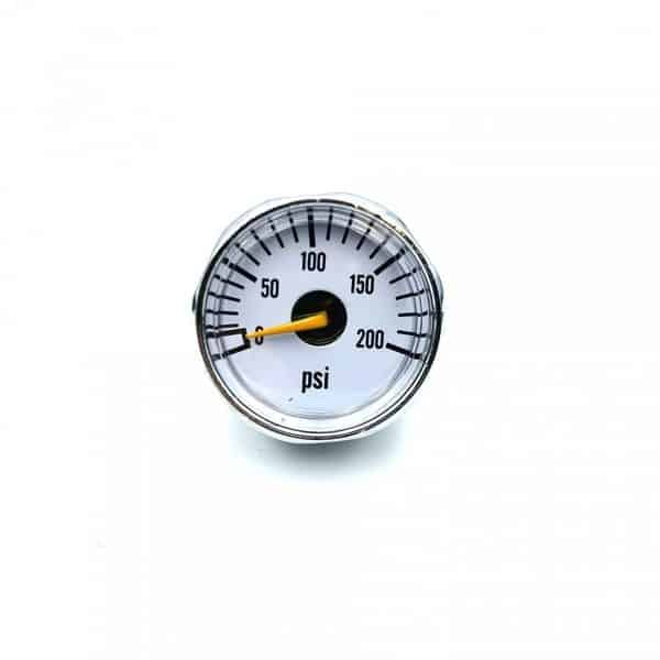 EPES 200 PSI Small pressure gauge - 1/8 NPT