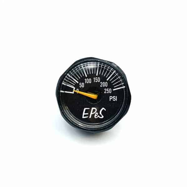 EPES 250 PSI Small pressure gauge - 1/8 NPT