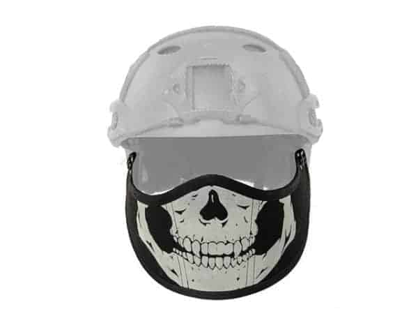 Emerson Mountable face protection for fast helmets (Skull)