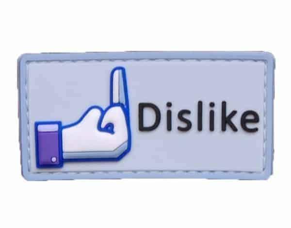 Facebook large Dislike morale patch