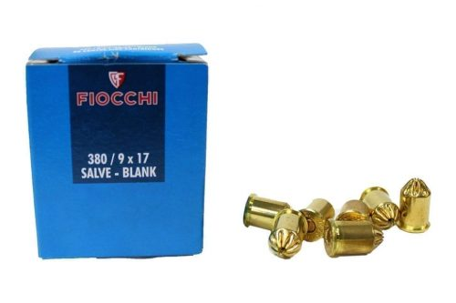 Fiocchi 9mm Blanks For Blank Firing Grenades (Pack Of 50)