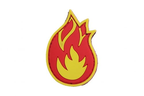 Fireball (Coloured) Morale Patch