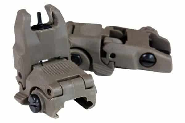 FMA FBUS Gen2 Iron sights - Dark Earth