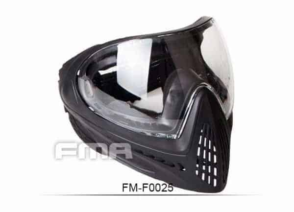 fma f1 mask clear 2 FMA F1 Full Face Mask With Single Layer  - Clear