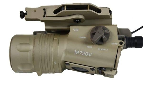 FMA M720v Weapon Light Upgraded version - Dark Earth