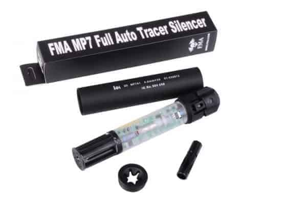 FMA Full Auto Tracer Silencer For MP7