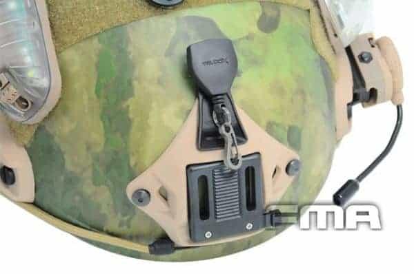 FMA NVG Lanyard For Ops Core VAS Three Hole Shroud - Tan