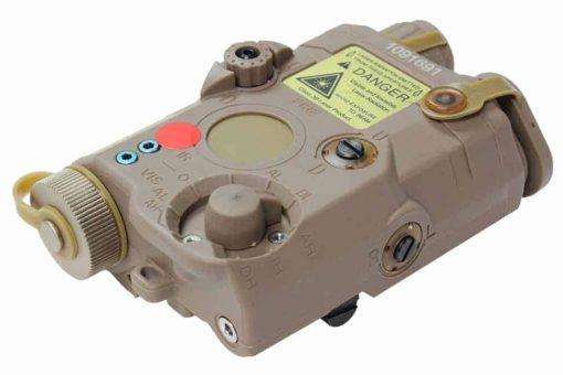 FMA PEQ LA5 LED White Light + Red Laser With IR Dark Earth