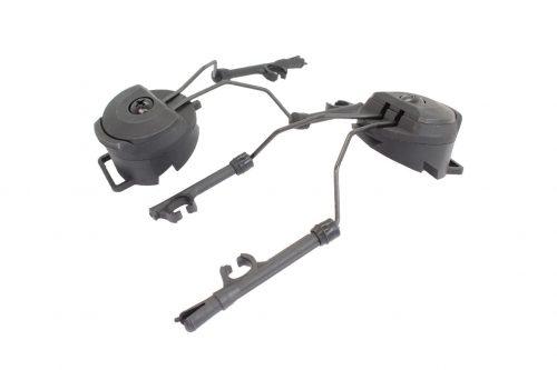 FMA PT Headset and Helmet Rail Adapter Set - Black