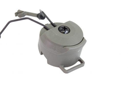 FMA PT Headset and Helmet Rail Adapter Set - OD Green