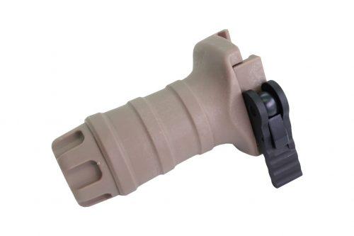 FMA Short Vertical Grip - Quick Detach DE