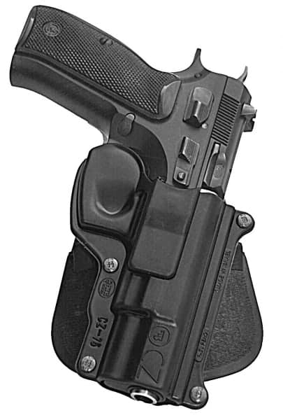 FOBUS CZ-75 Paddle Retention Holster (CZ-75)