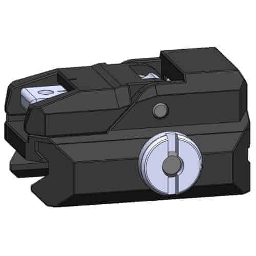 GHK G5 Rear Sight in black