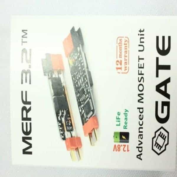 Gate Airsoft Merf 3.2 Programmable Burst Mosfet - Plug & Play op