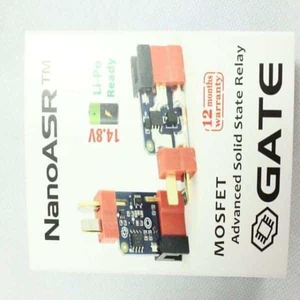 Gate Airsoft NanoASR Mosfet Hardwiring Damp Resistant