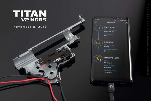 Gate Titan Mosfet V2 NGRS next gen recoil front wired - Basic