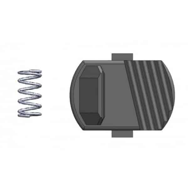 GHK G5 Stock Release button catch and Spring (g5-28)