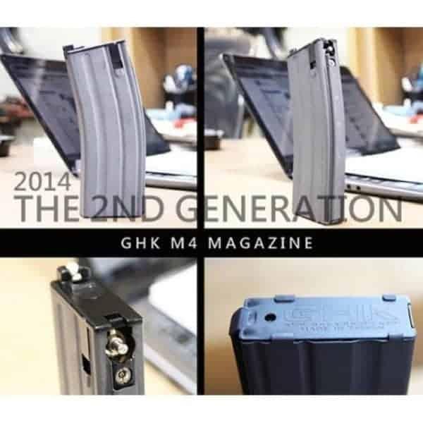 GHK M4 Gas Blow Back magazine V2 GBB gas version